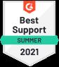 Best Support Award - Summer 2021