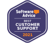 Software Advice - Custom Support Award 2021