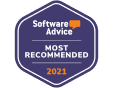 Software Advice - Most Recommended Award 2021